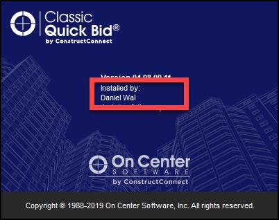 QB 4.98 Splash Screen