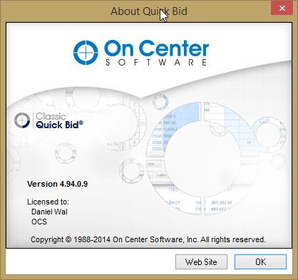 QB 4.94 Splash Screen