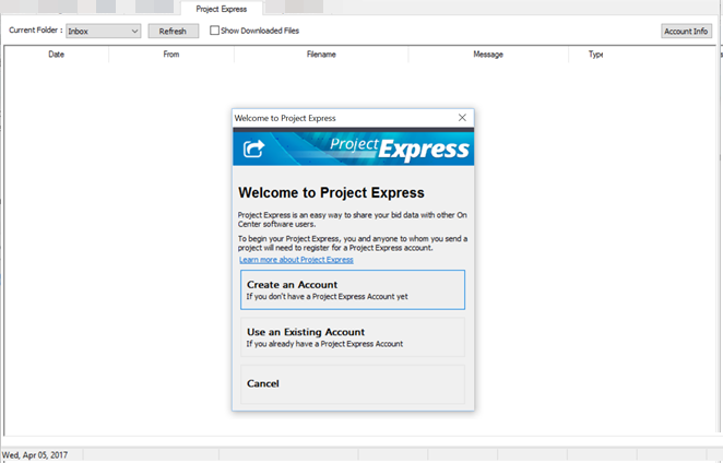 OST 3 94 - 12 The Project Express Tab | On Center Software Support