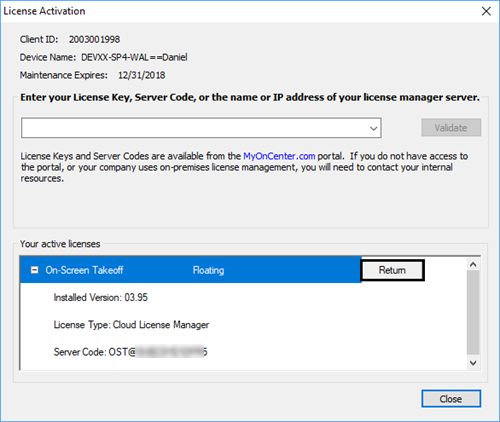 when using a Server Code or the on-premise license manager, you are allowed to borrow the license and disconnect from your network for up to 7 days