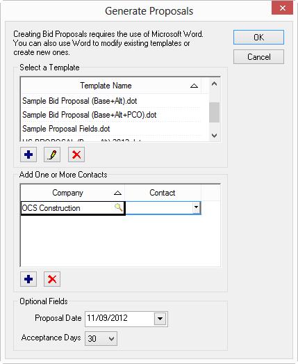 edit a proposal template