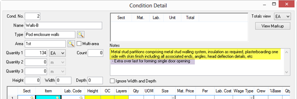 qb 4 96 05 formatting and importing a quantity survey on center