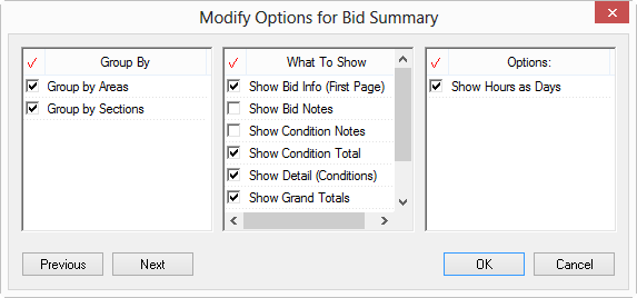 QB 4 96 - 01 01 Reports Options | On Center Software Support