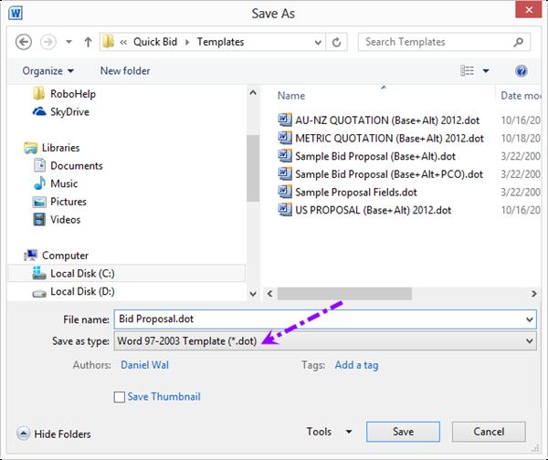 qb 4 96 06 01 customizing proposal templates on center software